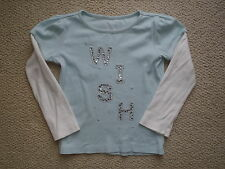 Gymboree HOLIDAY Fairy WIshes WISH Rhinestone LS Top Sz 5