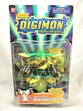 "Bandai Vintage 1997 Digimon Season 3 Digi-Warriors Gargomon 5"" Action Figure MIP"