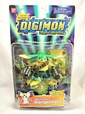 "Bandai Vintage 1997 Digimon Season 3 Digi-Warriors Gargomon 5"" Action Figure MIP"