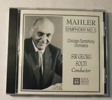 Mahler, Symphony No. 5 CD, Sir Georg Solti, Chicago Symphony Orchestra
