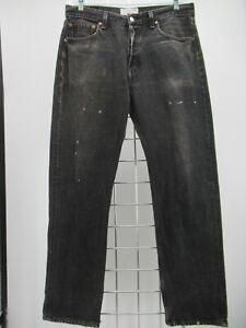 M5326 VTG Men's Levi's 501 Button-Fly Straight-Leg Denim Jeans Size 34/32