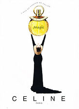 PUBLICITE ADVERTISING  1996   CELINE  eau de parfum MAGIC