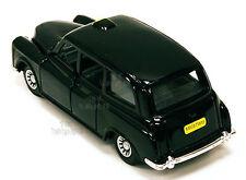 "LONDON BLACK TAXI CAB DIE CAST 7"" L PULLBACK MOTION BUCKINGHAM PALACE HARRODS UK"