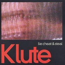 Klute Lie Cheat & Steal CD