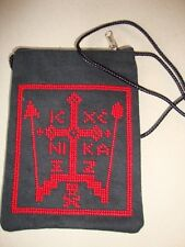 Orthodox Christian Monastic schema pouch with the Great Schema of monks and nuns