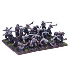 Kings of War Undead ZOMBIE WARRIORS Regiment 20 Zombies Mantic Fantasy 28mm