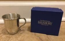 """NEW Pottery Barn Kids Salisbury Baby Cup MONOGRAM """"Evelyn Lee"""""""