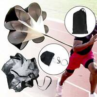 145cm Speed Training Resistance Parachute Chute Power For Running Sport Cxz