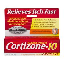 New Cortizone 10 Anti-Itch Ointment Maximum Strength 1 OZ.
