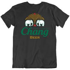 Chang Thai Thailand Premium Quality Beer T Shirt Elephant Bangkok Phuket Pattaya