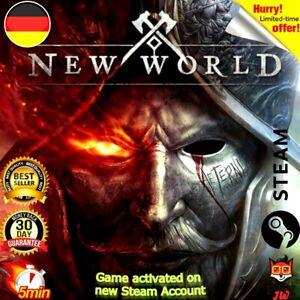 ✅ New World | Steam | PC Spiel/ Game | No Key | EU | Deutschland ✅