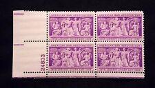 US Stamps #1022 ~ 1953 AMERICAN BAR ASSOCIATION 3c Plate Block MNH
