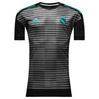 Adidas Real Madrid Training Shirt Pre Match Parley Black/Granite MENS L NWT NEW