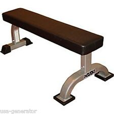 Valor Flat Weight Bench Utility 550 LBS Dumbbells Workout Exercise Heavy Duty