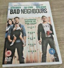 BAD NEIGHBOURS DVD (2014) ZAC EFRON COMEDY DVD