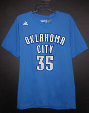 Kevin Durant Thunder High Defintion Jersey Style Go-To adidas Shirt Large NEW