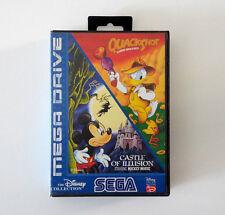 Castle of Illusion - QuackShot (The Disney Collection) SEGA MEGA DRIVE