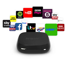Now TV Box 2 - Sky, BBC iPlayer, ITV, YouTube.