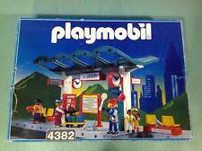 (O4382.0) playmobil Grand quai de gare ref 4382 bte cplt 4017 4016 4011 5252
