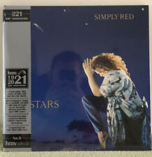 Simply Red Stars HMV 100 Centenary Exclusive Blue Vinyl Limited Edition Of 1000