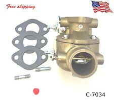 Carburetor w/gaskets For Ford Tractor 2N 8N 9N 8N9510C Marvel Carb 2 Stud  new 4
