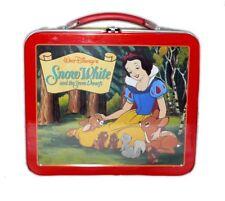 Hallmark Disney Snow White Seven Dwarfs School Days Lunch Box Sealed LE 1E/3081