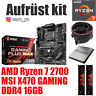 PC Bundle Kit Set ❄ AMD Ryzen 7 2700 ✔ MSI X470 Mainboard ✔ DDR4 16GB 3000 ✔