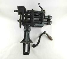 New listing Antique Pre 1870 Peck Smith Bead Roller with Stake Base Tinsmith Blacksmith