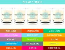 Soy Wax Mango Round Decorative Candles