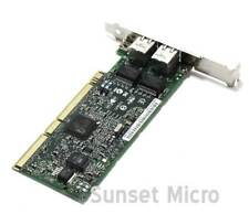 HP NC7170 313586-001 313559-01 Dual Port PCI-X 1000T Gigabit Server Adapter