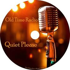 Quiet Please Old Time Radio Show OTR 91 Episodes on 1 MP3 CD Free Shipping