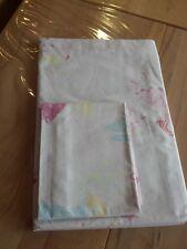 Bettwäsche Kinderbettwäsche mit Feen 135 x 200 cm & 80 x 80 cm in rosa Baumwolle