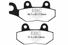FIT TRIUMPH Tiger 885cc (Carbs) (Up to VIN 71 92>97 EBC FRONT ORGANIC BRAKE PADS