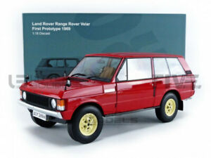 ALMOST REAL 1/18 - RANGE ROVER VELAR - FIRST PROTOTYPE 1969 - ALM810112
