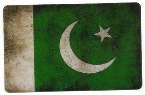 Sticker Decal Flag Pakistan - High-Gloss - Vintage Look
