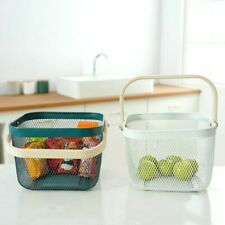 Metal Fruit Basket for Counter Top Decor Storage Basket for Fruit Pantry Items