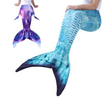 Adult Women's Mermaid Tail Costume Swimwear for Swimming Vacation Cospaly Outfit