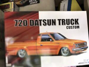 Aoshima DATSUN TRUCK 720, Single Cab CUSTOM 1/24 5355 ST
