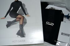 NEW AUTHENTIC  WOLFORD Military Style Black Hot Gaiters  RRP £155.00
