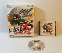 Links LS Extreme PC CD-Rom 1999 windows BIG BOX twisted parody golf game