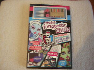 MONSTER HIGH CRAFT SET AND BOOK BRAND NEW