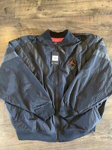 Nike Air Jordan Legacy AJ6 Nylon Full Zip Jacket - BV5405-010 - Men's XXL