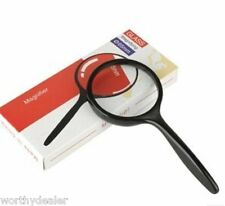 Large Magnifying Glass Quality 3x Lens Magnifier reading book handheld strong