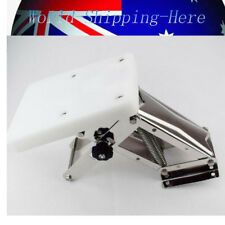 AU 110 lbs White Heavy Duty Stainless Steel Outboard Motor Bracket Up To 25hp