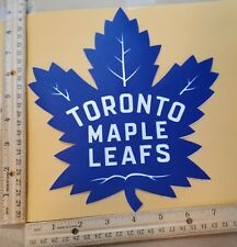 "HUGE TORONTO MAPLE LEAFS IRON-ON PATCH - 7"" x 9"""