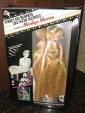 """Nib Marilyn Monroe """"There's No Business Like Show"""" Doll in Box 1982"""