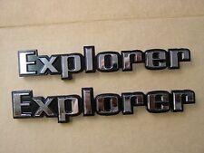 New Repro. 1973 1977 Ford Truck Pickup Explorer Emblems 1974 1975 1976 F100 F250