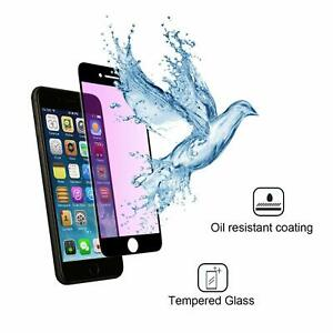Anti Blue Ray 9H Screen Protector Tempered Glass for Apple iPhone 7 + White