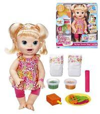 Baby Alive My SUPER spuntino Sara Baby Doll (biondo) - nuovo in mano
