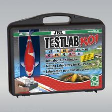 JBL Testlab Koi Profi Testkoffer Teich Wassertest  Set